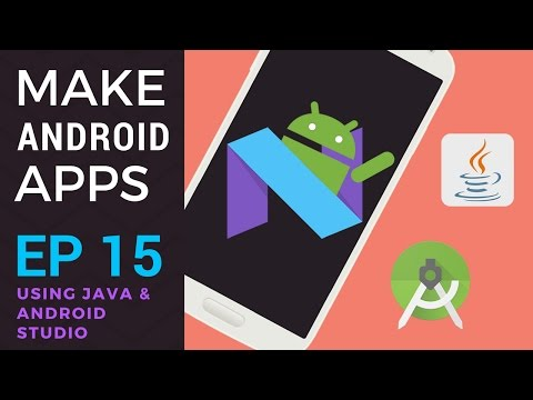 How to Make an Android App - Ep 15 - Java Arrays and How to Use Them