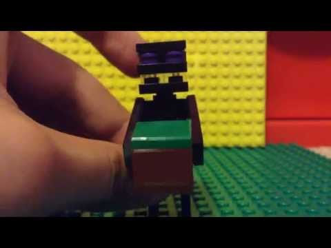 How to build a Lego Minecraft Enderman!