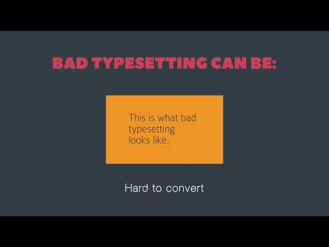 Typesetting: The Art of Placing Text on A Page!