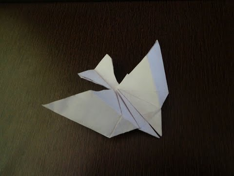 Paper Bird-How To Make Flying Paper Bird