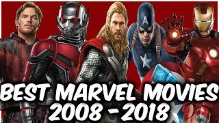 Download The Best Marvel Movies For Each Year From 2008 to 2018 Video