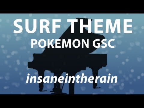 Surf Theme - Pokémon Gold/Silver/Crystal | Piano Cover