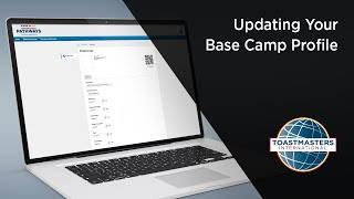 Updating Your Base Camp Profile