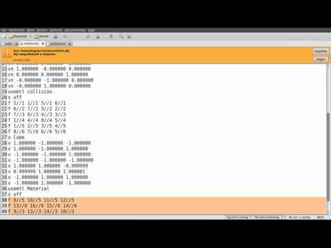 FPS game (OpenGL,SDL,C++) tutorial 4 - Modify objloader