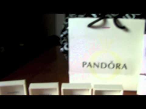 Pandora Charm Bracelet & Charms Haul