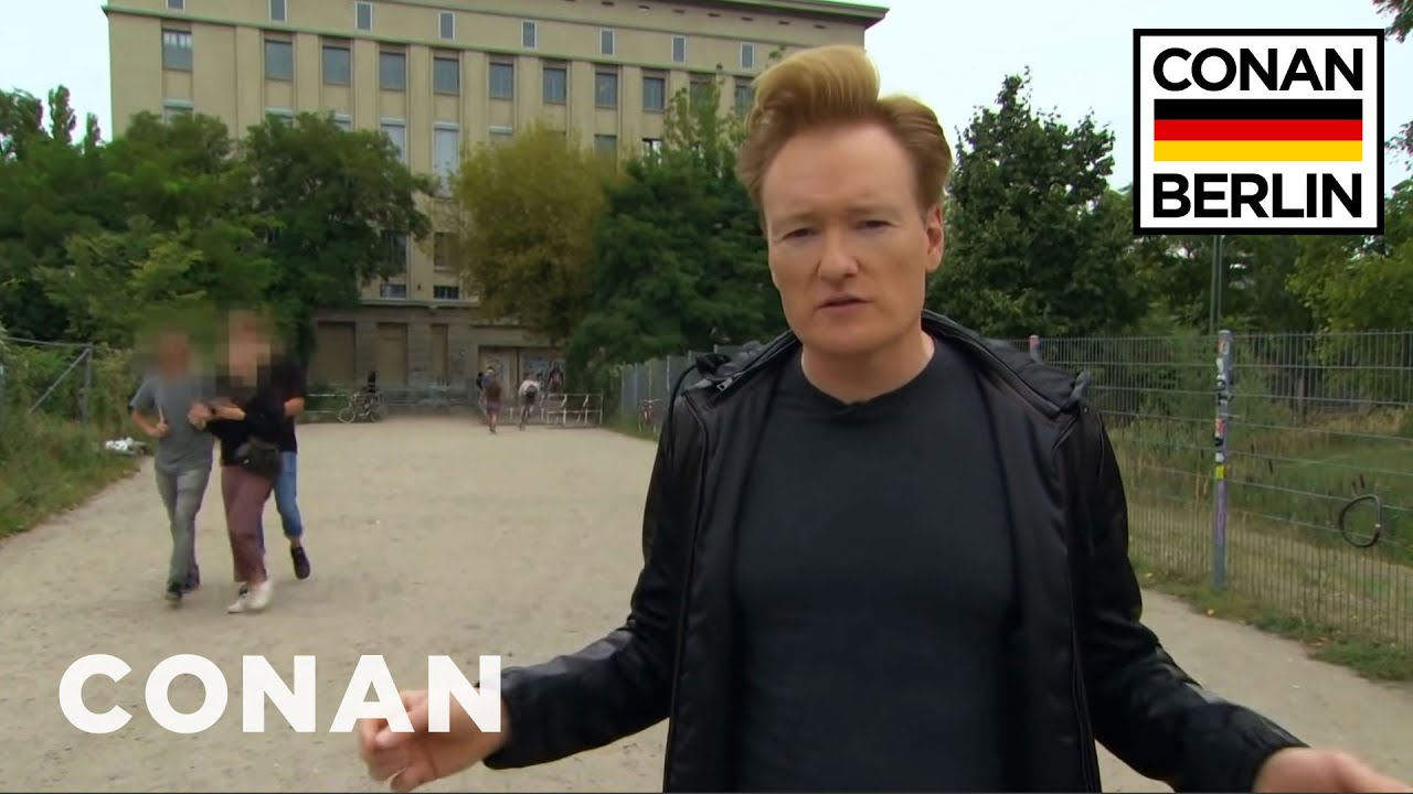 Conan Gets Rejected From Berghain | CONAN on TBS