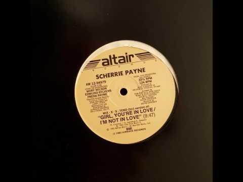 Scherrie Payne - Girl, You're In Love / I'm Not In Love (MiX-X-X-tend Version) (Vinyl - 1982)