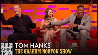 Anthony Joshua Casts Tom Hanks In His Future Biopic  - The Graham Norton Show