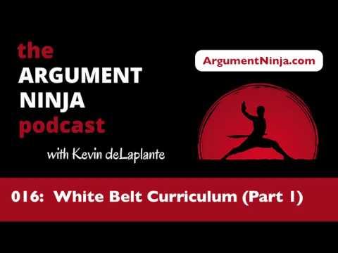 016 - White Belt Curriculum (Part 1)
