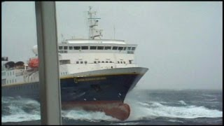 Cruise Ship: Rouge Wave Kills an Elderly Passenger on the British Ship Marco Polo