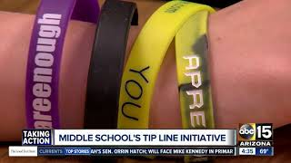 Aprende Middle School students working to stop suicides, self harm