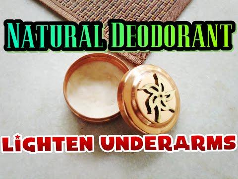 Natural Deodorant Recipe | Lighten DARK underarms | Mild for Sensitive skin