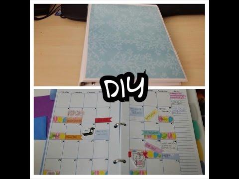 DIY: planner
