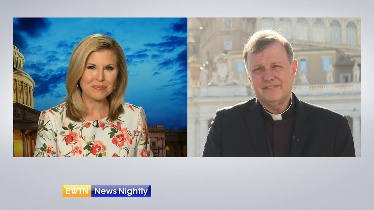 Pontifical Mission Societies Name New National Director | EWTN News Nightly