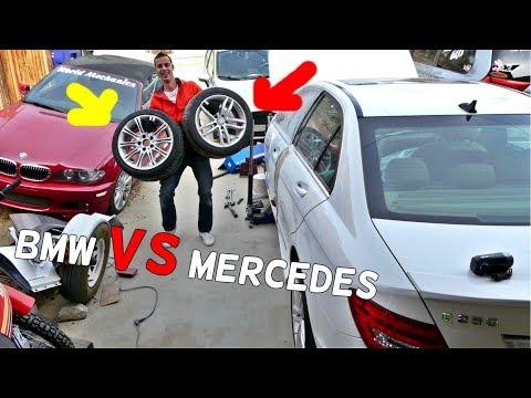 Are BMW Wheels HEAVIER Than MERCEDES Wheels