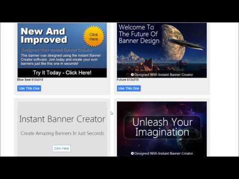 Instant Banner Creator