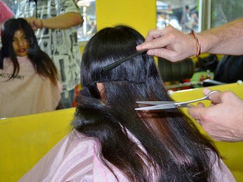 Girl long hair to bald FULL VIDEO