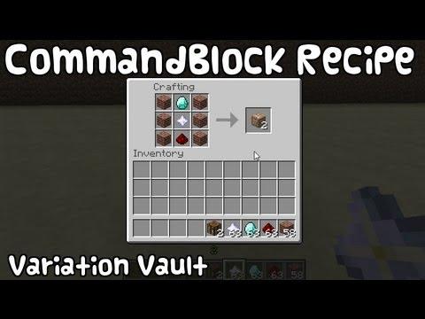 Minecraft Bukkit Plugin - Command Block Recipe - Craft Command Blocks