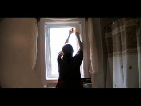 How To Install Decorative Window Film for Bathroom Privacy