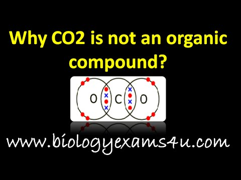 Why CO2 is not an Organic Compound?