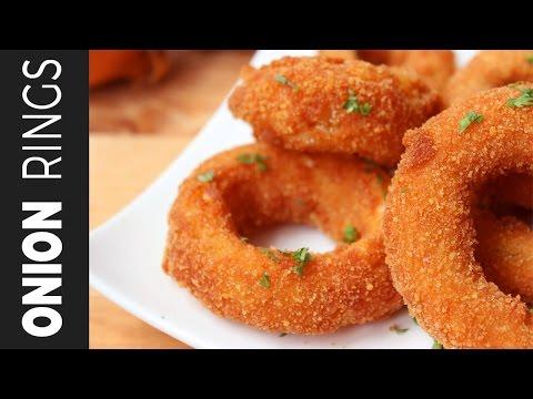 ক্রিসপি অনিয়ন রিংস | Onion Rings | How To Make Crispy Onion Rings |  Easy Bangladeshi Snacks Recipe