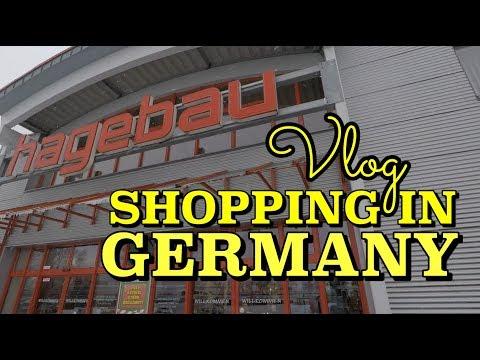 Shopping in Germany | Hagebaumarkt