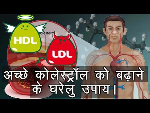 अच्छे कोलेस्ट्रॉल को बढ़ाने के उपाय। Tips to Increase Good Cholesterol (HDL) Gharelu Nuskhe