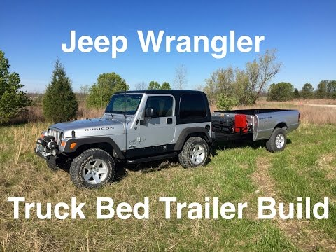 Off Road Truck Bed Trailer Stabilizers and Ladder Rack