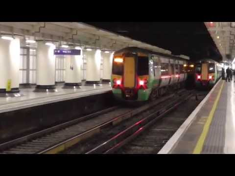 London Victoria Railway Station - Friday 23rd January 2015