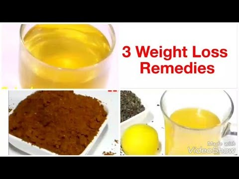 3 Home Remedies for Weight Loss fast/ Instantly Belly Fat Reduce Remedies/ Weight loss drink, powder