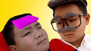 Best Grandpa in the World Song | Alex Pretend Play Sing-along Nursery Rhymes & Kids Songs