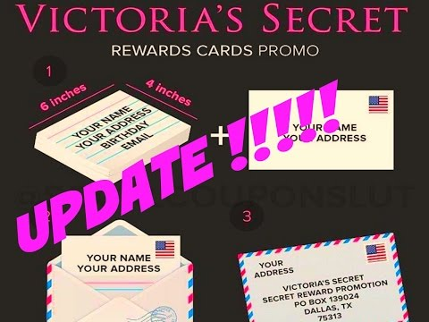 FREE VICTORIA'S SECRET GIFT CARDS UPDATE | 2/11/16