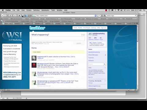 How to Customize a Twitter Page