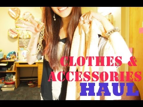 Clothes and Accessories Haul