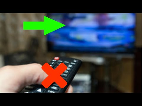 Changing Your TV's input Without a Remote
