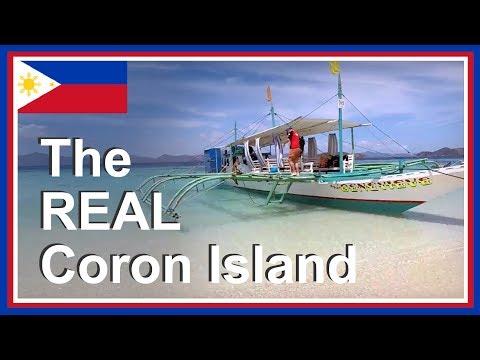 Coron Philippines Island Hopping in Palawan: private island hopping tour in the Philippines