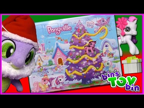 Let's Open The ENTIRE My Little Pony Advent Calendar From 2008! | Bin's Toy Bin