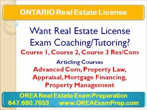 How to Get Real Estate License in Ontario?