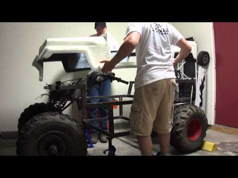 Kenbar Jeep Go Kart build pt.10