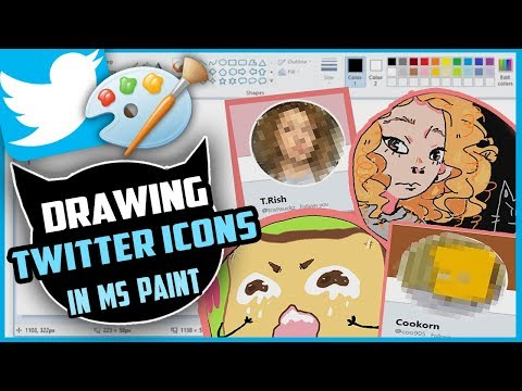 Drawing Your Twitter Icons In MS PAINT (Part 1)