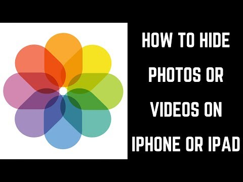 How to Hide Photos or Videos on iPhone or iPad