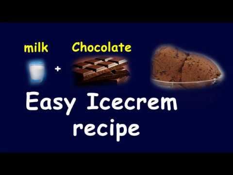easy ice cream tamil | Homemade Chocolate Ice Cream | 2 INGREDIENT ICE CREAM  | Harsh Tv