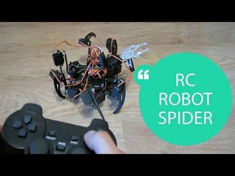 HOW TO MAKE A REMOTE CONTROL ROBOT SPIDER // HomeCraft