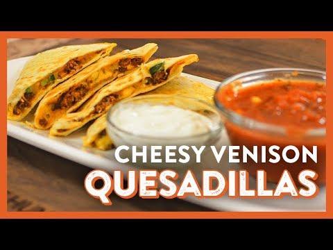 Cheesy Venison Quesadillas | Legendary Recipe