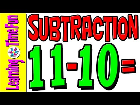 Subtract | Subtraction by 10 | Math for Kids | Math Help | Basic Math | Addition and Subtraction