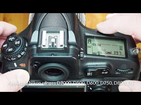 Camera bits: Nikon memory card format in 30 seconds