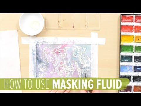 How to Use Masking Fluid