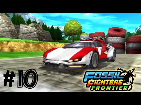 Fossil Fighters: Frontier Nintendo 3DS THE RACE! Walkthrough/Gameplay Part 10 English!