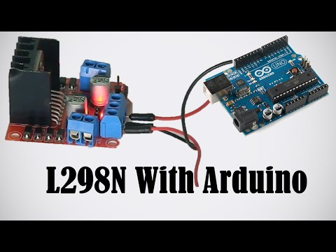 L298N - Using Motors with Arduino - How to Use L298N Driver
