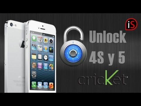 Como Desbloquear tu iPhone 4S/5/5C/5S CDMA a GSM Cricket/Verizon